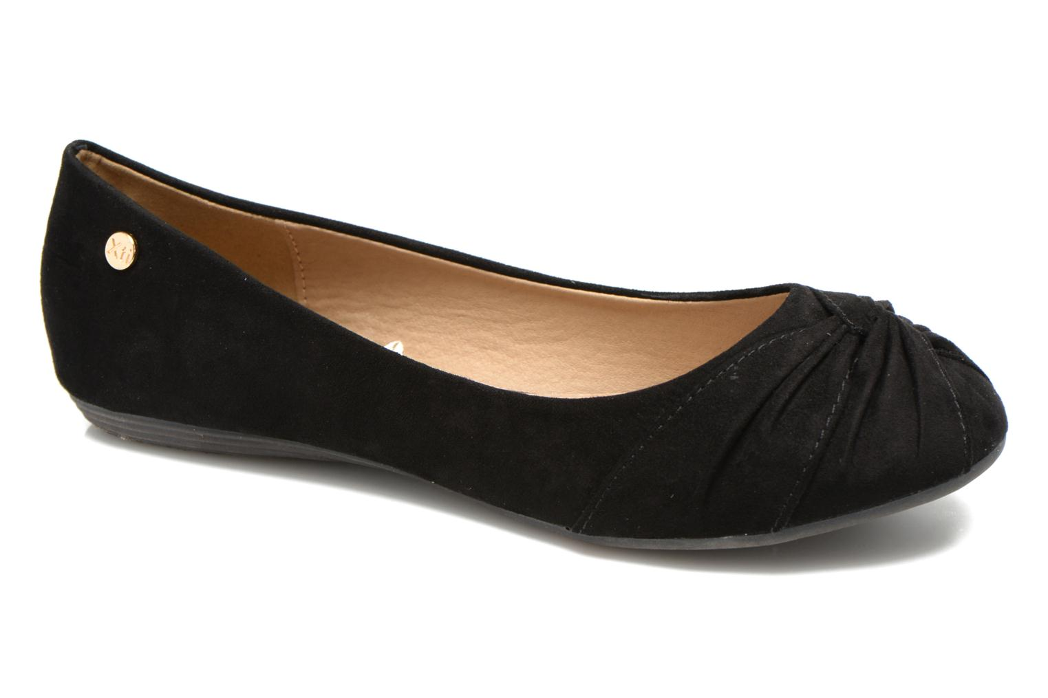 Ballet pumps Xti Constance 45114 Black detailed view/ Pair view